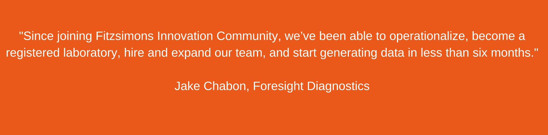 foresight quote